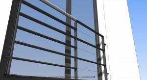 Fenster-BrüstungFlachstahl 2